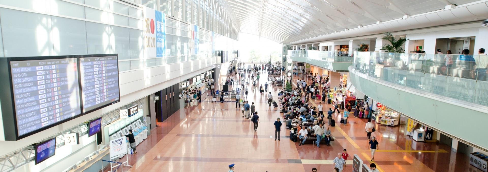 ホワイトパーキング羽田空港駐車場のご利用方法 羽田空港駐車場ホワイトパーキング